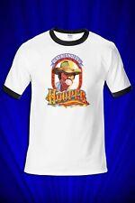 Hooper Vintage 1978 RINGER Tee T-SHIRT FREE SHIP USA Burt Reynolds