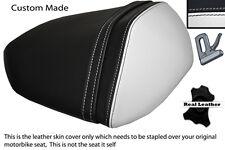 Blanco & Negro Custom encaja Kawasaki Z750 07-12 & Z1000 07-09 Trasero necesidades cubierta