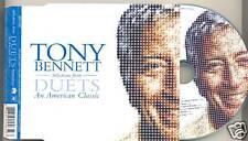TONY BENNETT Duets PROMO 6trk CD BONO U2 KD Lang