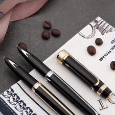 Hero 100 Classic Fountain Pen 14K Gold Nib Metal Authentic Quality Writing Gift