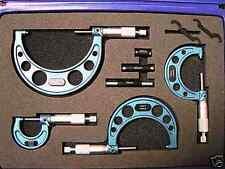 Outside External  Micrometer Set 0-100mm Ratchet Stop Type