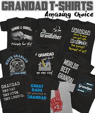 GRANDAD T-Shirt Birthdays Christmas Fathers Day Grandfather *Choose Your Design*