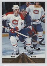 1996-97 Pinnacle #64 Mark Recchi Montreal Canadiens Hockey Card