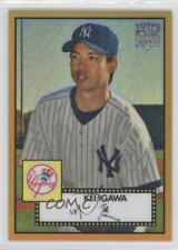 2007 Topps '52 Chrome Gold Refractor #TCRC53 Kei Igawa New York Yankees Card