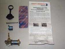 Genuine Knott-Avonride replacement coupling lock barrel suits Brian James etc.