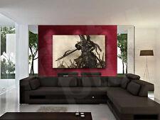 Chevalier Sword Rider Canvas Art Poster Print Wall Decor
