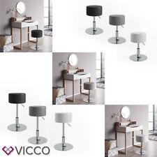 VICCO Design Hocker / Schminkhocker höhenverstellbar 3 Farben zur Auswahl