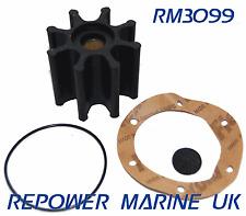 Impeller & Gasket, Volvo Penta Diesel. Replaces: 3841697, 877061, 21951356