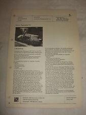 Original DDR Reklame Prospekt Datenblatt Hyd Betonpumpe HBP 7,5/1 VEB Halle 1973