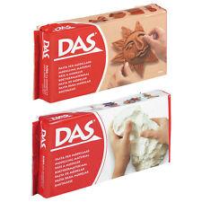DAS - AIR DRYING MODELLING CLAY - WHITE/TERRACOTTA - 500g/1kg