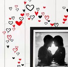 Upto90 Stylish Hand Writen Heart Vinyl Wall Art Graphic Sticker Decal Decoration