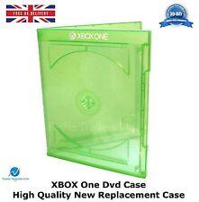 MICROSOFT XBOX ONE DVD VIDEO GAME CASE con logo Custodia di ricambio di alta qualità