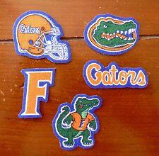 Iron On Sew On Transfer Applique Florida Gators Handmade Cotton Patches