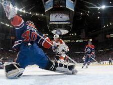 Devan Dubnyk Edmonton Oilers Goaltender Hockey Huge Giant Wall Print POSTER