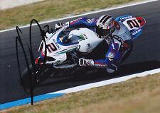 Leon Camier Suzuki Signed 5x7 Photo 2012 1.