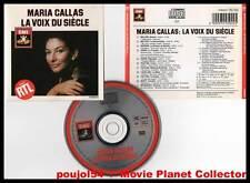 "MARIA CALLAS ""La Voix Du Siècle"" (CD) Bellini,Rossini... 1997"