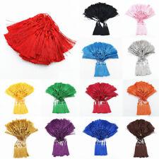 100pcs 3'' DIY Craft Tassels Fringe Pendants Bookmark Bag Hanging curtain Decor