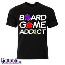 T-shirt uomo Board Game Addict, gamer giochi da tavola, di società, di ruolo