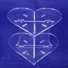 Heart Shaped Cake Separator - Standard Pillars