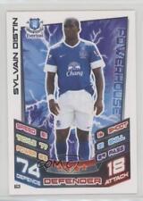 2012 2012-13 Topps Match Attax English Premier League #62 Sylvain Distin Everton