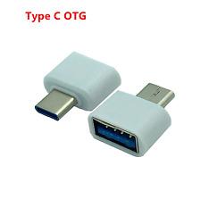 USB Tipo C C Macho a Hembra OTG de USB 3.0 Adaptador de carga de datos