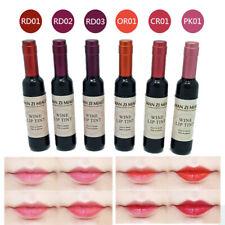 1pc Wine Bottle Waterproof Long Lasting Stained Matte Lip Gloss Lipstick Liquid