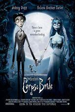 156046 Tim Burton's Corpse Bride Puppet animation film Wall Print Poster CA