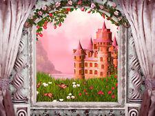 Fototapete Selbstklebend Schloss Prinzessin Märchenschloss - Made in Germany