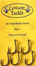 Catmaster NEW Catfish Fishing UK Boilie Pellet Hooks Barbed *All Sizes*