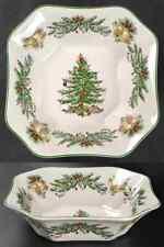 Spode CHRISTMAS TREE GARLAND Square Salad Serving Bowl 9361936