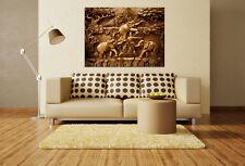 3D Elephants 55 Wall Stickers Vinyl Murals Wall Print Decal Art AJ STORE AU