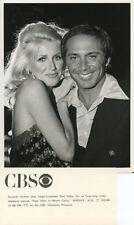 SUZANNE SOMERS PAUL ANKA ORIGINAL 1978 CBS TV PHOTO