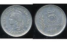 ARGENTINE 5 centavos 1973