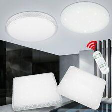LED 24 Watt Decken Wohnraum Lampe rund Starlight Effekt Beleuchtung Dimmer EEK A