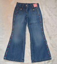 Gymboree CUPCAKE CUTIE Sweet Denim Flare Jeans Pants NWT 6