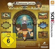 Nintendo 3DS - Professor Layton und das Vermächtnis von Aslant (DE) (mit OVP)