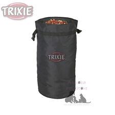 Trixie Dog Food Bag - Holds 1kg Hard-Wearing Nylon Collapsible Keep Food Fresh