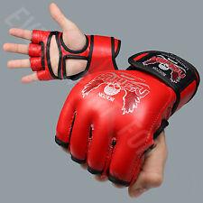 NEW Nzmma Custom Limited Edition MMA Training Gloves - Red/Black