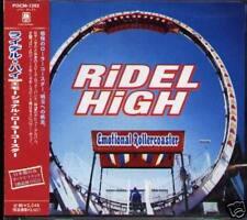 Ridel High - Emotional Rollercoaster Japan CD+2BONU NEW