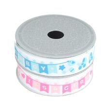 It's Boy/It's a Girl Banner Grosgrain Ribbon, 7/8-inch, 10 Yards