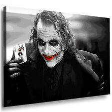 Leinwand Bild Joker – Batman Bilder xxl Keilrahmen Wandbild Kunstdrucke Poster