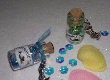 Lovely Little Sparkling Fantasy Mermaid Tears Keepsake Bottles, gifts, favours