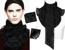 Col jabot cravate lavallière gothique baroque dandy motifs cachemire Punkrave