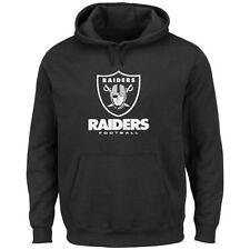 NFL Football Hoody Hoodie Kaputzenpullover OAKLAND RAIDERS black Victory VIII us
