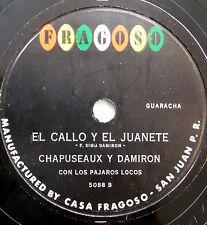 CHAPUSEAUX Y DAMIRON Latin 78 Primavera / El Callo Y El Juanete FRAGOSO Bolero