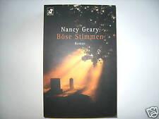 NANCY GEARY BÖSE STIMMEN