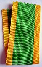 FRANCE: ruban neuf 14 cm x 37 mm pour la médaille militaire engagé volontaire.