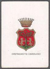 LIVORNO CASTAGNETO CARDUCCI 04 STEMMA FIGURINA BRIOSCHI anni '20 SERIE 5ᴬ - n 90