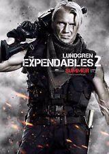 Los Indestructibles 2 la película Poster-Dolph Lundgren-opción 10-A4 y A3