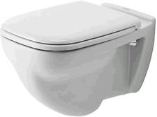 Duravit Wand-WC D-Code 54 cm Flachspüler optional WC-Sitz Softclosing 2210090000